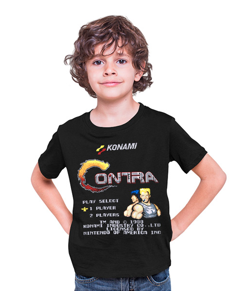 Camiseta videojuego Contra