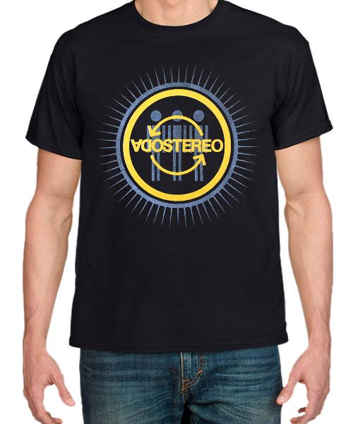 Camiseta Soda Stereo