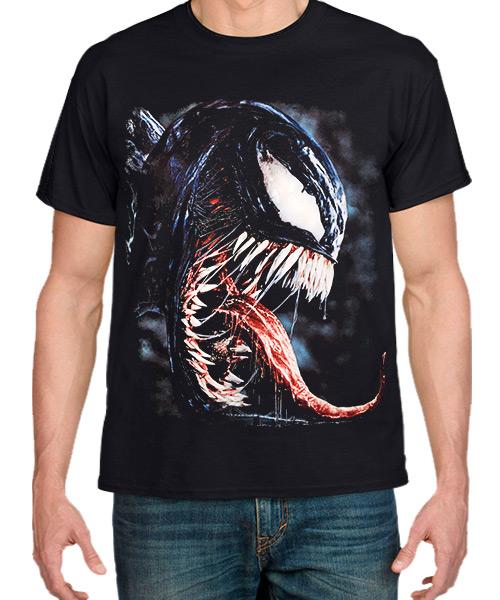 Camiseta Venom versión real