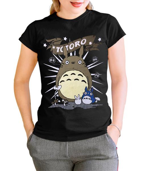 Camiseta Mujer Totoro