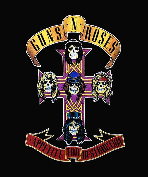 Camiseta Guns N` Roses: Appetite For Destruction