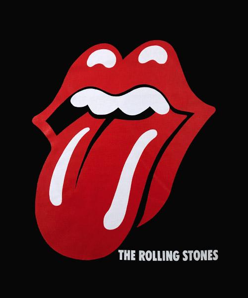 Camiseta logo Rolling Stones