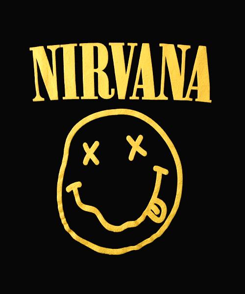 Camiseta Nirvana Smile