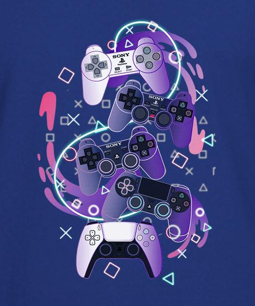 Videojuegos Camiseta Playstation DualShock