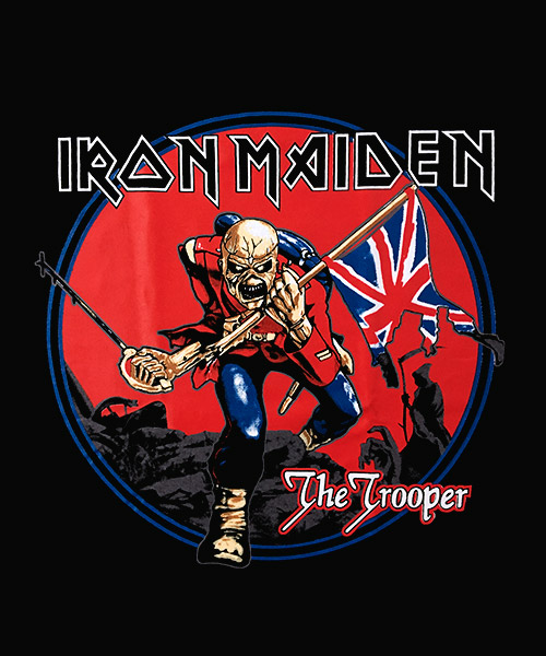 Camiseta Mandrágora Store Iron Maiden