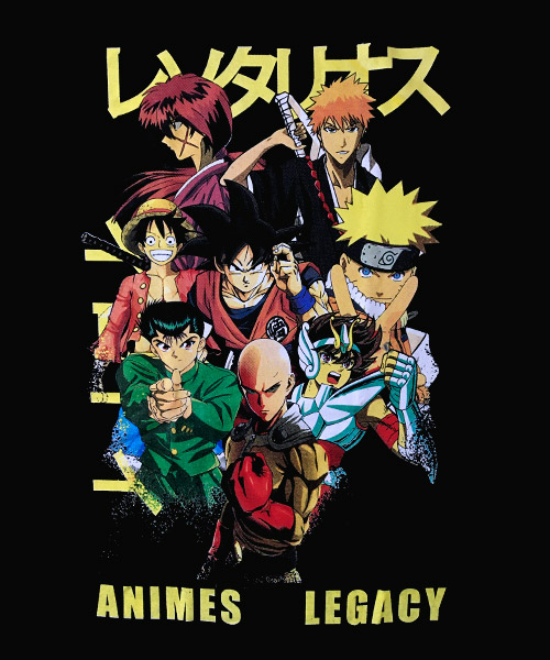 Camiseta Mandrágora Store Animes Legacy