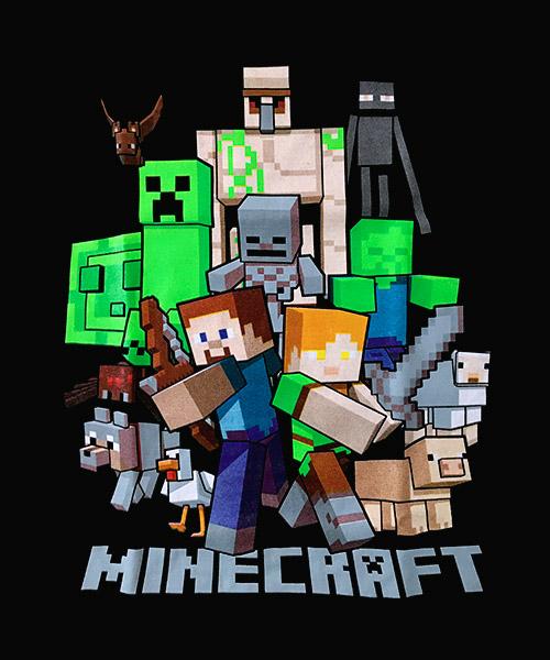 Camiseta Mandrágora Store Minecraft