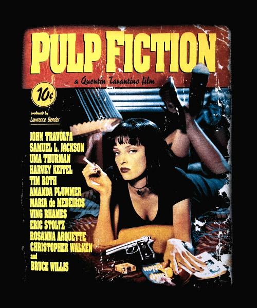 Camiseta Mandrágora Store Pulp Fiction