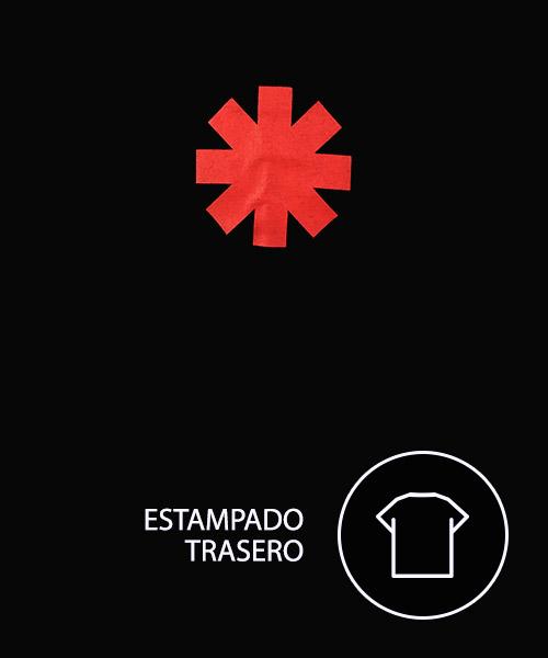 Camiseta Mandrágora Store Red Hot Chili Peppers